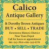 Calico Antique Gallery 2021 Antiques Trade Directory ad